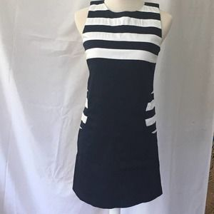JB by Julie Brown Mod-look Mini Dress Blue Size 4
